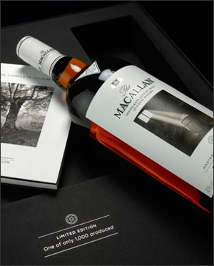 The Macallan Sherry Oak 20 ans Albert Watson