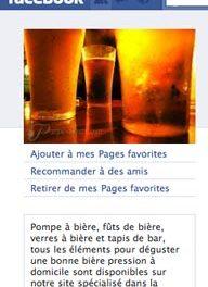Opération spéciale sur Facebook pour Pompe à Bière