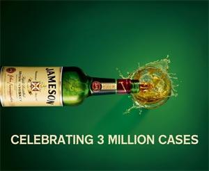 Jameson fier de ses 3 millions de caisses