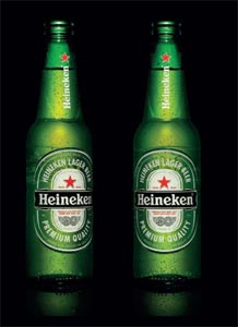 Nouveau packaging Heineken 2011