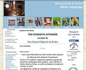 Le site de la Brasserie de Brière