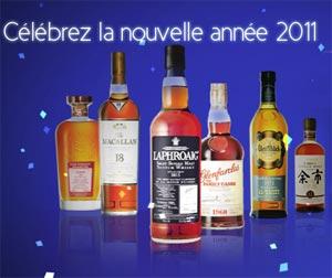 La promotion de La Maison du Whisky