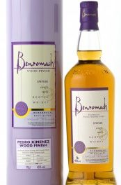 Nouveau Benromach Pedro Ximenez Wood Finish
