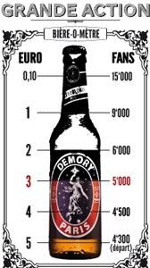 """Le """"Bière-ô-mètre"""" Demory"""
