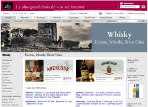 Le site de vente de vin 1855 ajoute le whisky à son catalogue