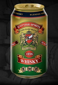 La canette de Scottish Spirits