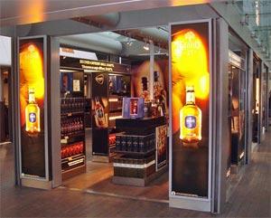 La boutique Grant's au Terminal 2F