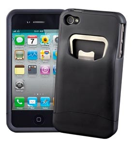 Coque-décapsuleur pour iPhone 4G