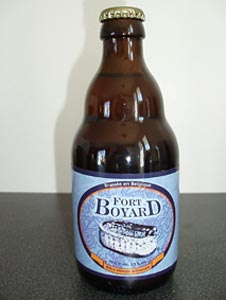 Bière Fort Boyard blonde brassé à Rochefort