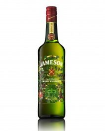 Bouteille collector Jameson Saint-Patrick