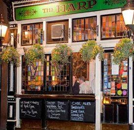 The Harp à Londres, couronné pub anglais de l'année