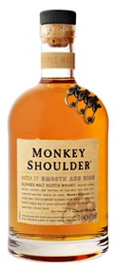 Whisky blend Monkey Shoulder