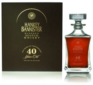 Hankey Bannister 40 Year Old, meilleur blend du monde en 2011