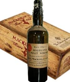 Un Shackleton Mackinlay's Rare Old Highland Malt commémoratif
