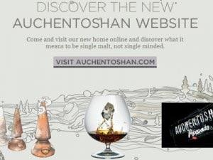 Nouvelle présence sur le net pour Auchentoshan