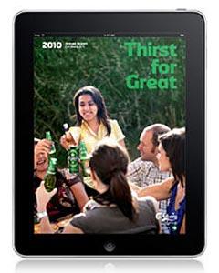 Le groupe Carlsberg sur iPad