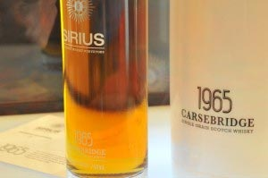 Sirius une nouvelle marque de whisky premium