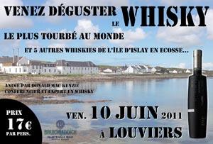 Dégustation de whiskies en Normandie