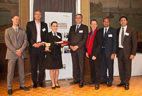 Laura Choquart remporte le Concours de Biérologie 2011