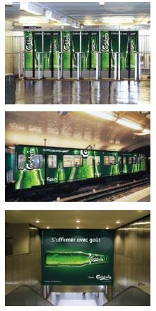 Carlsberg va investir le métro