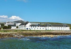 La distillerie Bruichladdich sur Islay