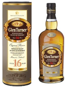 Glen Turner Single Malt 16 ans, Port Cask Finish
