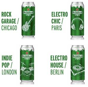 Heineken Spring Collection, tout pour la musique