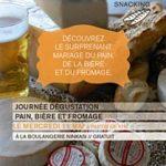 Journée dégustation Pain, Bière et Fromage à la boulangerie Ninkasi
