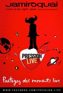 Pression Live de Kronenbourg avec Jamiroquai