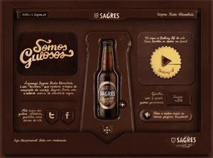 Sagres monte un site web en chocolat pour sa nouvelle Preta