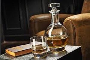 Villeroy & Boch Fine Flavour avec deux lignes distinctes, American Bar et Scotch Whisky.