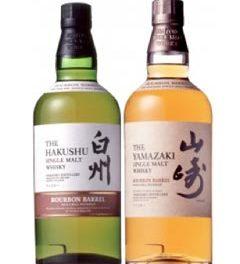 Suntory annonce deux éditions limitées vieillies en fûts de bourbon