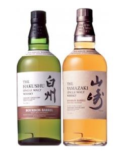 Hakushu et Yamasaki Bourbon Barrel