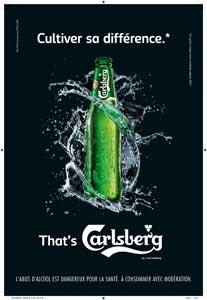Carlsberg cultive sa différence