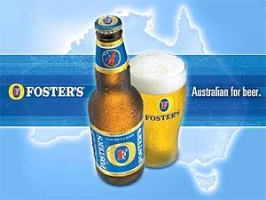 Foster's australian for  SAB Miller