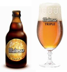 Nouvel bière Maltesse Triple