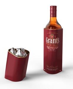 Grant's en étui raffiné et utile pour les fêtes