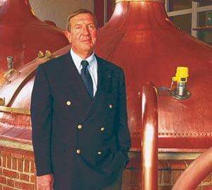 André Pecqueur, président de la Brasserie St Omer