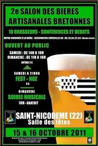 Anthémuse organise le 2e Salon des bières Bretonnes