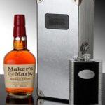 Maker's Mark de cuir et d'argent pour les fêtes de fin d'année !
