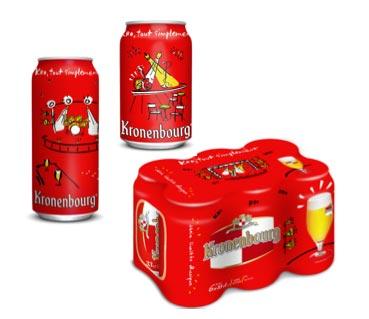Kronenbourg, de nouveaux collectors en Live