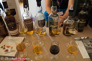 Lors du Whisky Live Paris 2011