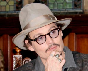 Johnny Depp (photo: Voici)