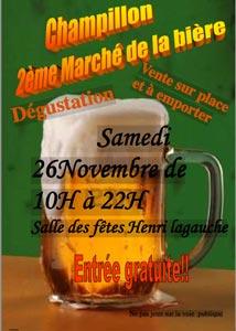 Marché de la bière à Champillon