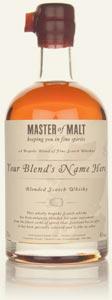La bouteille de blend personnalisée par Master of Malt