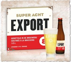 La nouvelle Export 8 de Haacht