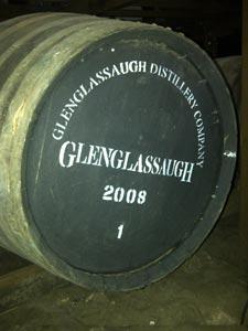 Le premier fût de Glenglassaugh 2008