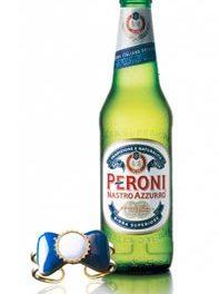 Avec Peroni Nastro Azzurro la bière est un bijou