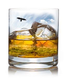 Whisky de la Distillerie des Hautes Glaces