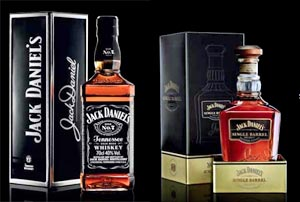 Coffrets Jack Daniel's Noël 2011